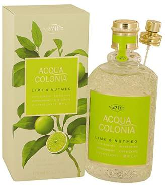 Maurer & Wirtz 4711 Acqua Colonia Lime & Nutmeg Perfume by 5.7 oz Eau De Cologne Spray (Unisex)