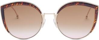 Fendi F is cat-eye frame sunglasses