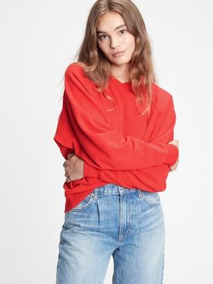 Gap Vintage Soft Raglan Crewneck Sweatshirt