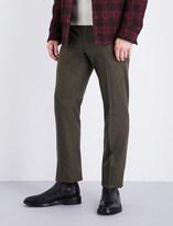 Ralph Lauren Purple Label Regular-fit wool-flannel trousers