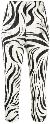 Pleats Please Issey Miyake Printed Trousers