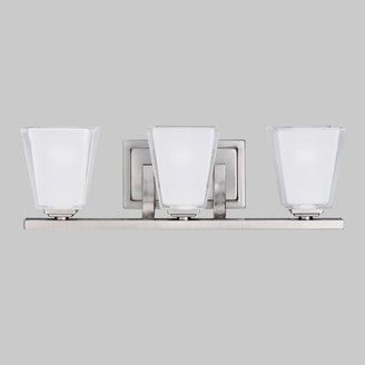 Antonietta 3-Light Vanity Light Latitude Run Finish: Antique Pewter