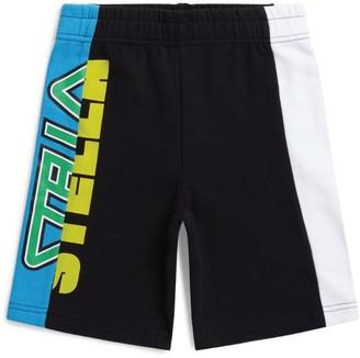 Stella McCartney Colour Block Logo Shorts