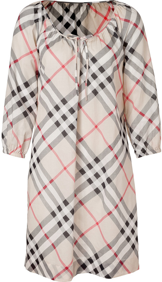 Burberry New Classic Check Cotton Tunic