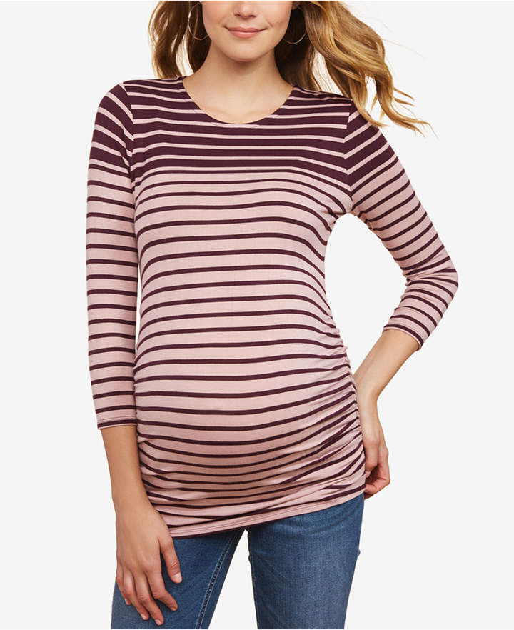 Jessica Simpson Maternity Ruched Jersey Top