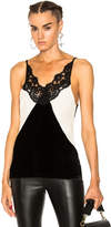 Fausto Puglisi Tank with Lace Detail