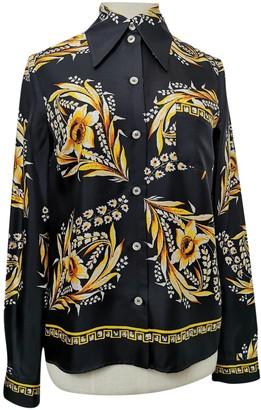 Gucci Black Silk Tops
