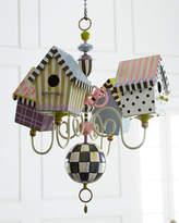 Mackenzie Childs MacKenzie-Childs Birdhouse Chandelier