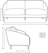 Thumbnail for your product : John Lewis & Partners Cape Large 3 Seater Sofa