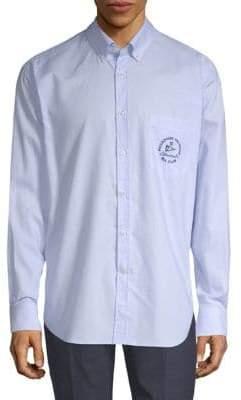 Paul & Shark Admiral Pinstripe Cotton Shirt