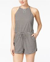 Ultra Flirt Juniors' Striped Romper