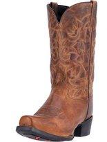 Laredo Western Boots Mens 12 Bryce Cowboy Heel CST Tan Dist 68442