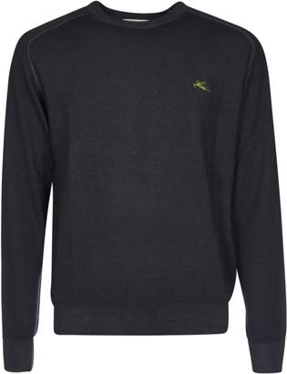 Etro Logo Embroidered Sweater