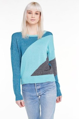 Wildfox Couture The Tidal Wave Knit In Tide Orion Night - XS