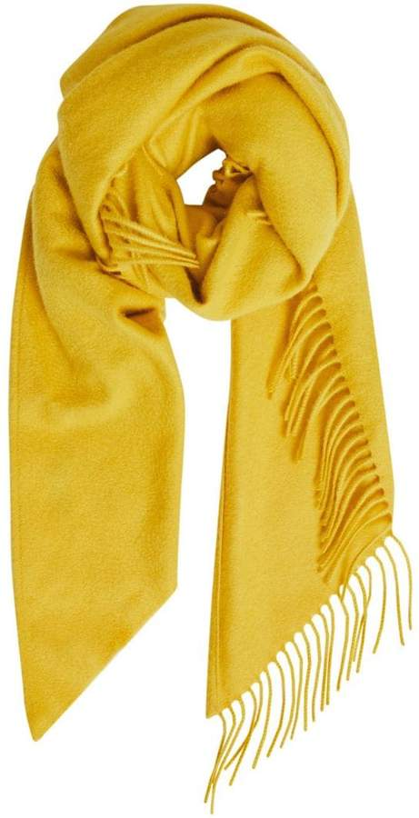 Burberry classic embroidered scarf