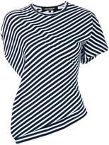 Junya Watanabe diagonal stripes T-shirt