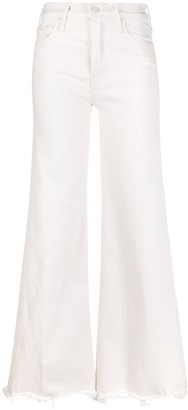 Mother Mid-Rise Flared Style Jeans