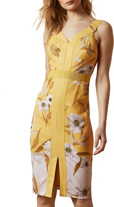 Ted Baker Peppinn Cabana Body-Con Dress