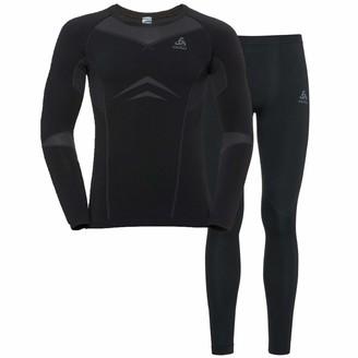 Odlo Men's 7613361573897 Shirt Negro/Gris/Grafito Xx-Large