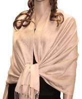 NYFASHION101 Fabulous Large Soft Paisley Scarf Shawl Wrap (Rust )