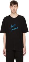 Saint Laurent Black Logo Signature T-Shirt