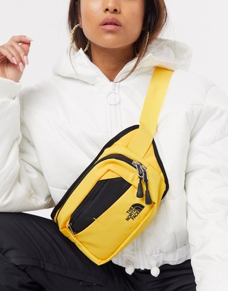 The North Face Bozer hip pack II Fanny Pack in yellow/black