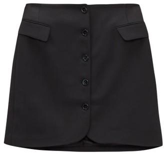 Acne Studios Ivet Twill Mini Skirt - Black