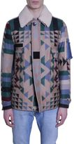 Valentino Al- Over Patterned Motif Blouson