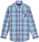Chaps Boys 4-20 Clinton Plaid Button-Down Shirt