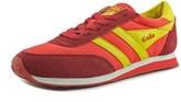 Gola Monaco Round Toe Suede Sneakers.