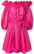 Stella McCartney off-the-shoulder bow dress
