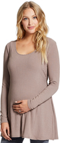Motherhood Jessica Simpson Relaxed Fit Maternity Tunic