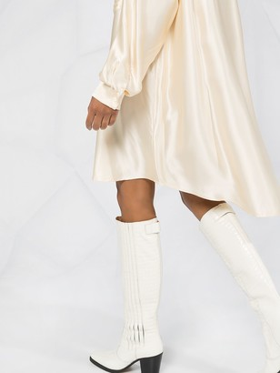 MM6 MAISON MARGIELA Long-Sleeve Shirt Dress