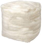 Nourison Fur Pouf Pillow