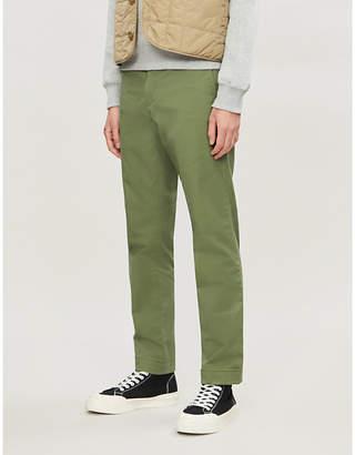 Polo Ralph Lauren Flat-front slim-fit stretch-cotton trousers