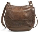 Frye 'Melissa' Leather Crossbody Bag - Grey
