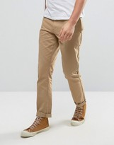 Jack Wills Keadby Slim Fit Chinos In Sand