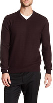 Perry Ellis Textured Knit Pullover Sweater