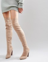 Truffle Collection Truffle Wham Over The Knee Stretch Boot