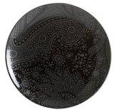 Black Paisley Serving Platter
