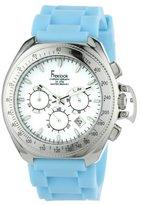 Freelook Women's HA6303-6A Aquamarina III Blue Band and White Dial Watch