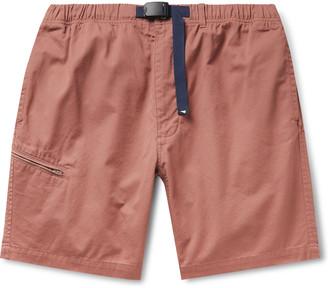 Pilgrim Surf + Supply Salathe Belted Cotton-Twill Climbing Shorts