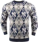 Men's New York Yankees Candy Cane Holiday Sweater