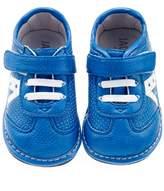 Jack & Lily Cutout Star Sneaker - Blue, Size 24-30m