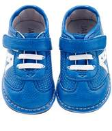 Jack & Lily Cutout Star Sneaker - Blue, Size 30-36m