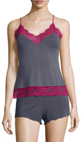 Samantha Chang Women's Lace Trim Camisole