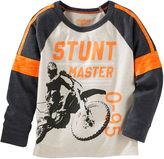 Osh Kosh Oshkosh Bgosh Long-Sleeve Stunt Master Shirt - Baby Boys 3m-24m