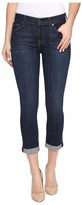 7 For All Mankind Skinny Crop Roll in Nouveau New York Dark Women's Jeans