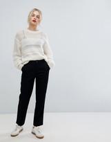 Asos Design DESIGN chino pants in black