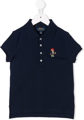Ralph Lauren Kids Bear polo shirt